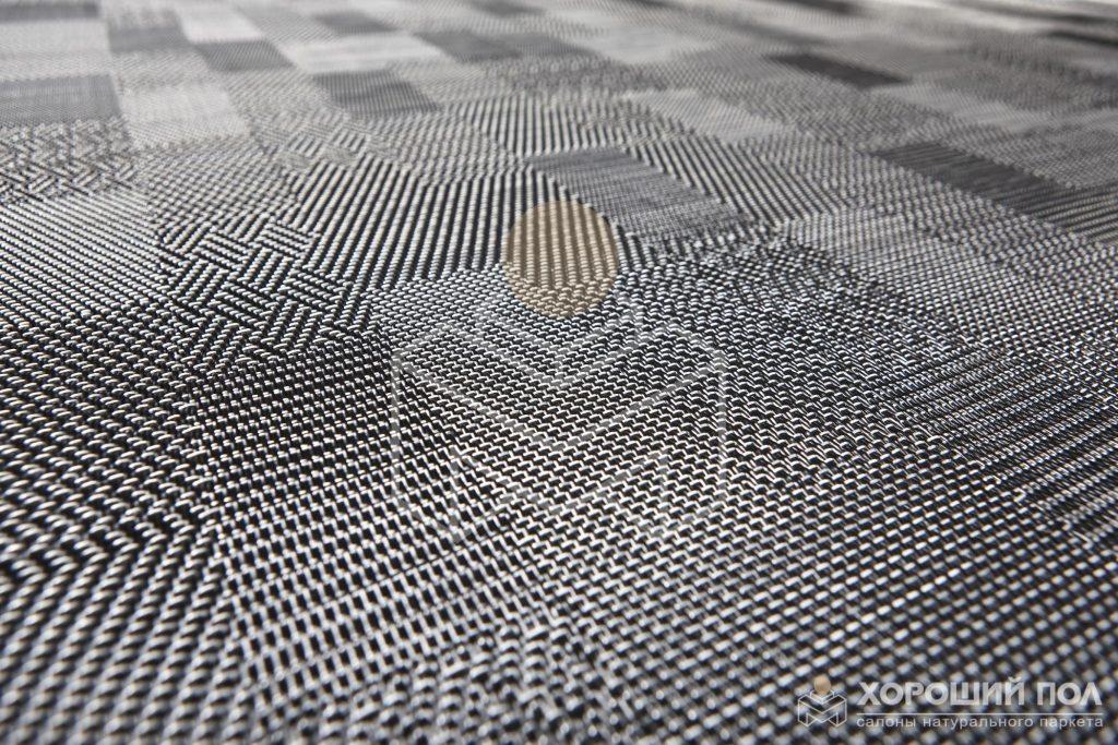 Дизайнерские плетеные полы BOLON – Швеция CHECKED Graphic РУЛОН 1100-48