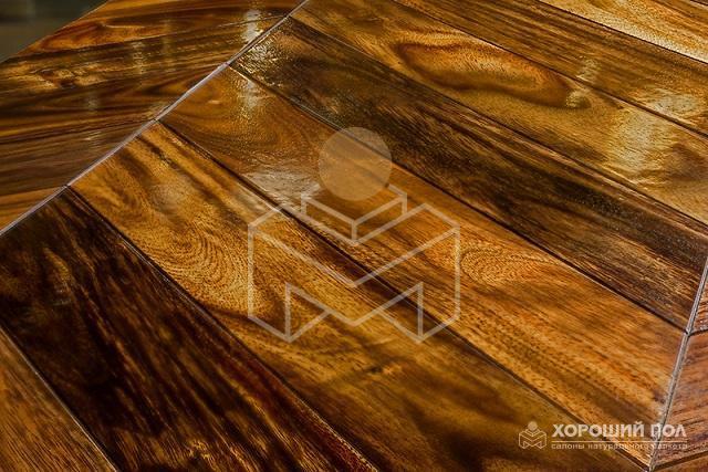 Массивная доска KOMOFLOOR – Индонезия Мербау Без покрытия Массив T&G (шип-паз) Экстра 9999-230