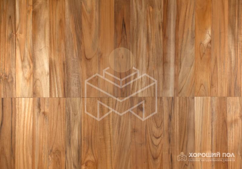 Массивная доска KOMOFLOOR – Индонезия Тик Лак Массив T&G (шип-паз) Экстра 9999-172
