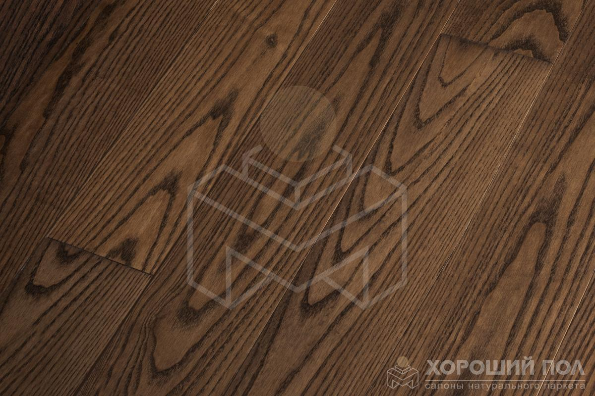 Инженерная доска COSWICK Ясень Комо Авторская Лак матовый 3-х слойный T&G (шип-паз) Селект энд Бэттер 1237-1342