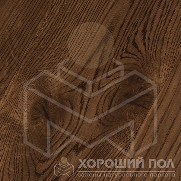 Инженерная доска COSWICK Дуб Молочный шоколад Широкоформатная доска Масло шелковое ультраматовое 3-х слойный T&G (шип-паз) Черектер 1165-7517