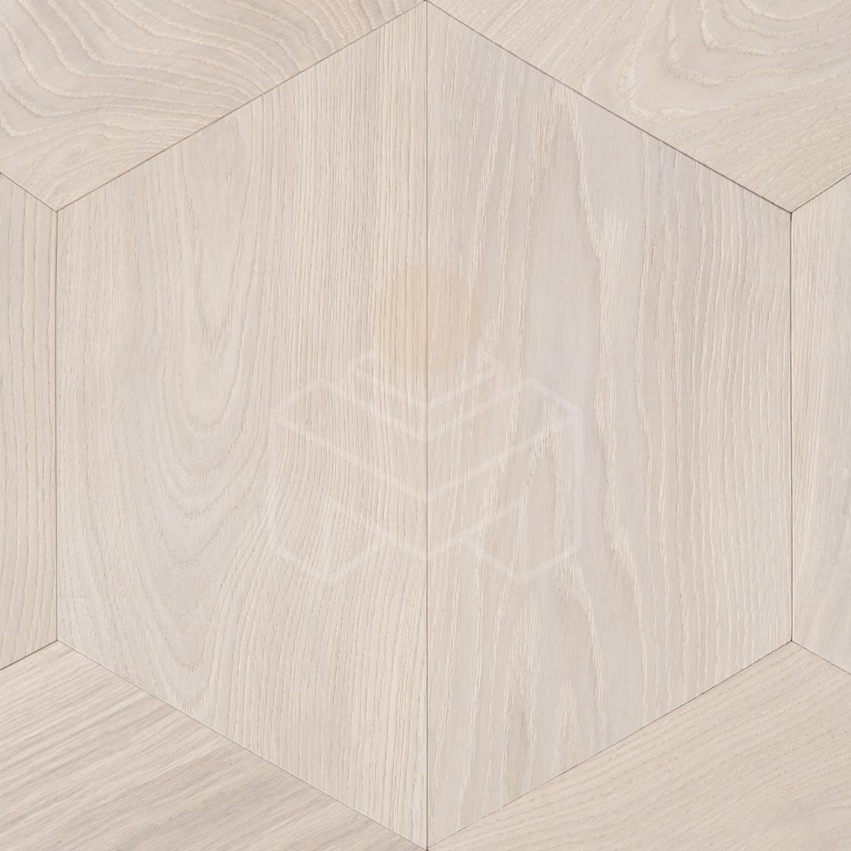 Инженерная доска COSWICK Дуб Белый иней ПАРКЕТРИ-Трапеция Масло шелковое 3-х слойный T&G (шип-паз) Селект энд Бэттер 1194-1258