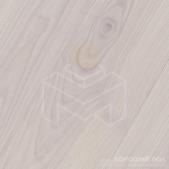 Инженерная доска COSWICK Ясень Облачный Бражированная Масло шелковое 3-х слойный T&G (шип-паз) 1 Коммон 1254-3235