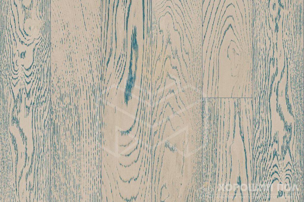Инженерная доска COSWICK Дуб Индиго Вековые традиции Масло шелковое 2-х слойный T&G (шип-паз) Таверн 1121-4556