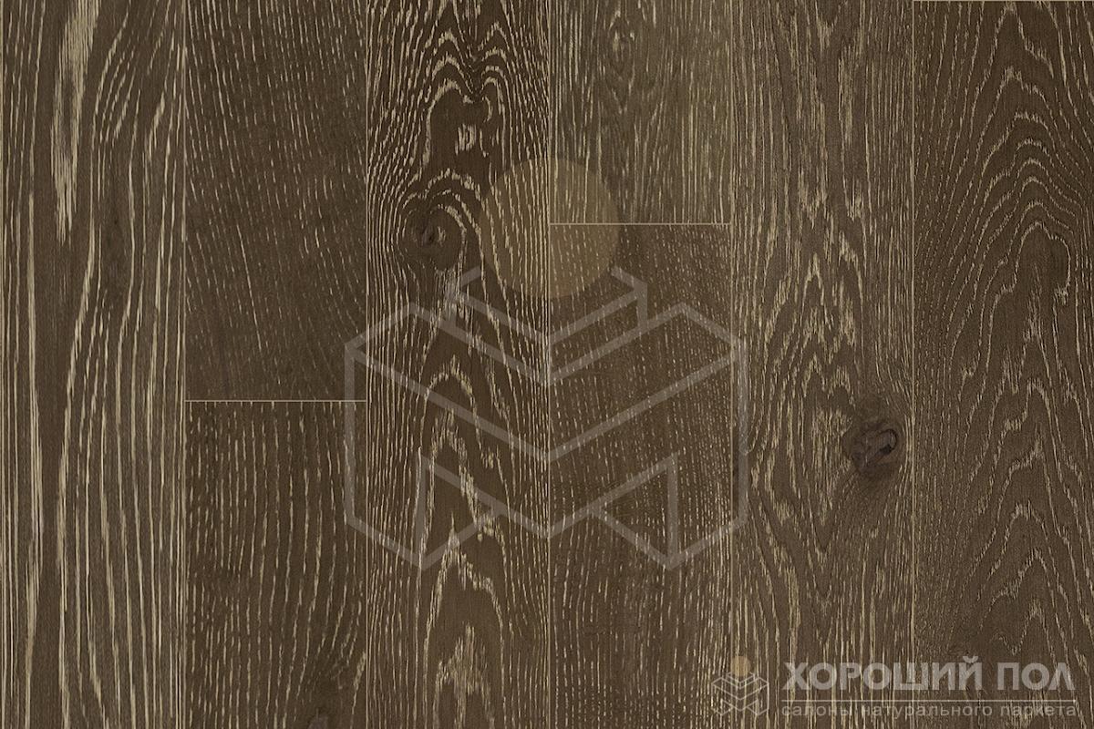 Инженерная доска COSWICK Дуб Винтаж коричневый Вековые традиции Масло шелковое ультраматовое 3-х слойный T&G (шип-паз) Таверн 1167-4554