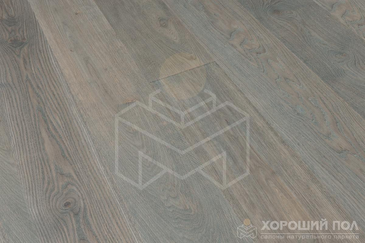 Инженерная доска COSWICK Дуб Вересковый Искусство и Ремесло Масло шелковое ультраматовое 3-х слойный T&G (шип-паз) Черектер 1163-7573