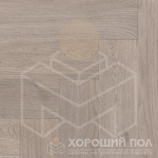 Паркет елка COSWICK Английская елка Дуб Шамбор Ренессанс Масло шелковое Массив T&G (шип-паз) 1 Коммон 1125-3215