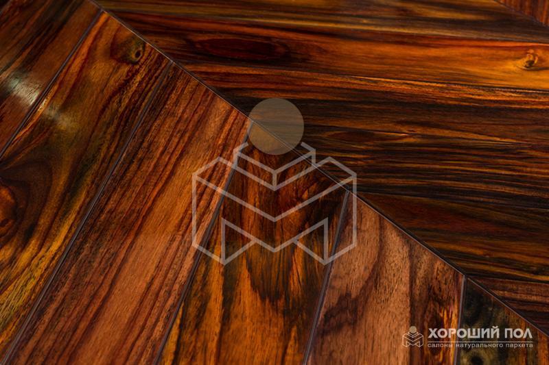 Массивная доска KOMOFLOOR – Индонезия Палисандр Лак Массив T&G (шип-паз) Экстра 9999-207
