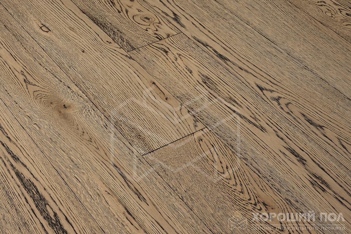 Инженерная доска COSWICK Дуб Французский гобелен Вековые традиции Масло шелковое 2-х слойный T&G (шип-паз) Таверн 1121-4249